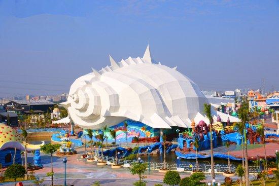 Шаньтоу, Китай: 海螺湾