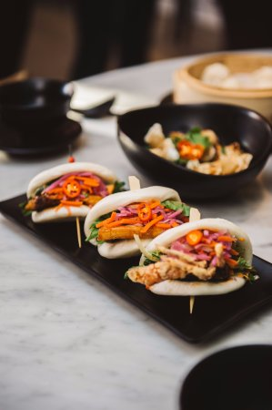 Claremont, Australia: Miss Chow's Sliders (Chicken, Pork Belly & Soft Shell Crab)