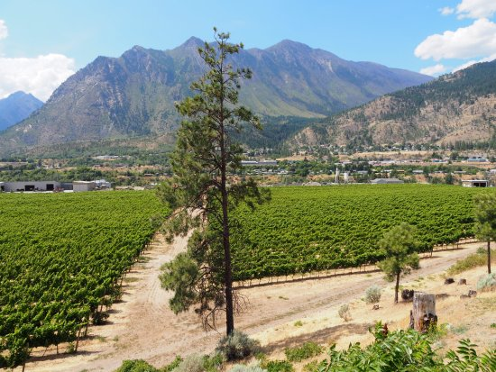 Lillooet, Canada : Stunning View from the patio at Fort Berens