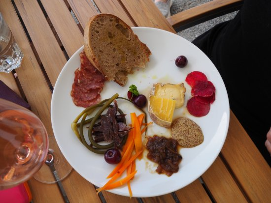 Lillooet, Canada : The Charcuterie Plate - so good!