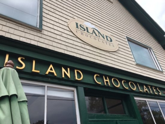 Victoria, Canada: Island Chocolates, enjoy what this little store produces as you watch the chocolate being made.