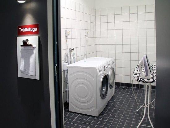 Sollentuna, Schweden: Laundry room
