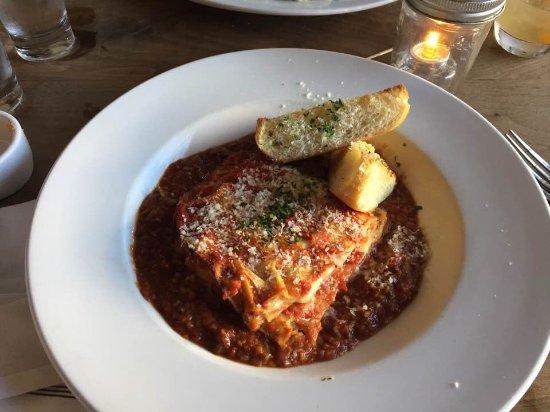Geyserville, CA: Lasagna
