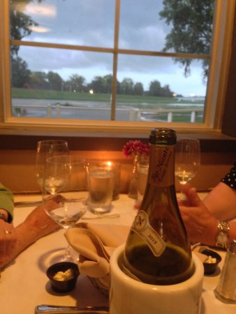 "Troy, OH: dinner at the ""Captain's Table"""