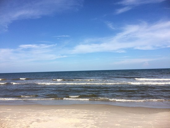 Kure Beach, NC: This is one of my favorite places to spend the day. Four wheel drive and a permit is required to
