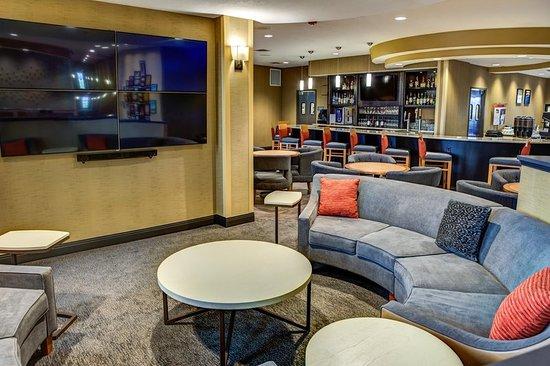 West Fargo, ND: Lobby TV Area