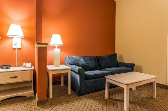 Comfort Suites at the University: Guest room