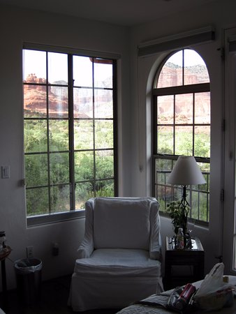 The Penrose B&B: Room view