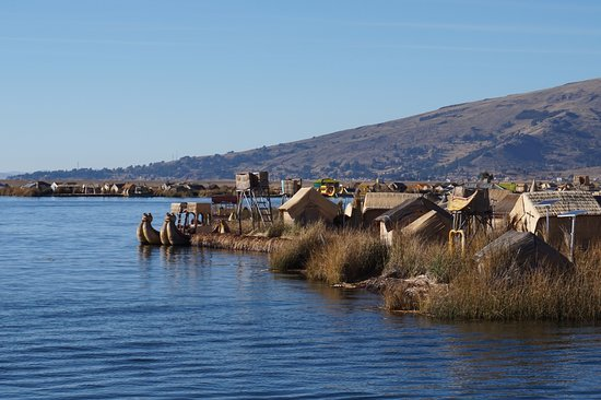 Ilhas de Uros: Islands