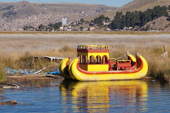 Ilhas de Uros: For hauling tourist around