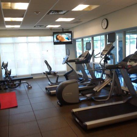 Markham, Canada: gym