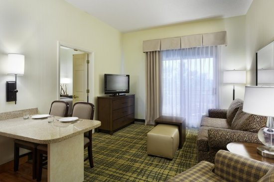 Homewood Suites By Hilton Raleigh Crabtree Valley One Bed Suite King Office Living Room