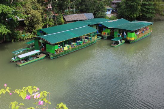 RIVER WATCH FLOATING RESTO: The Floating Restaurant at the dock