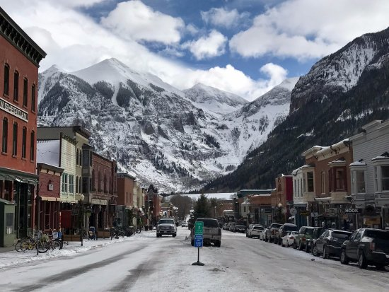 Telluride, CO: One glorious clear day - gorgeous view