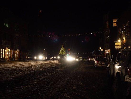 Telluride, CO: At night