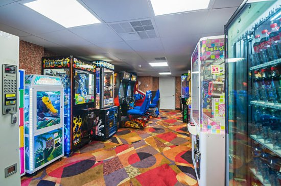 Quality Inn Oceanfront: Game Room
