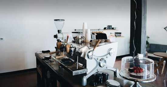 Alpine, TX: Our Custom Slayer Espresso & some goodies that we have every once in a while.