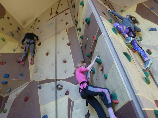 Spicer, MN: Indoor Heights Climbing Wall