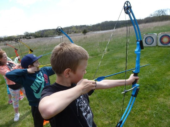 Spicer, MN: Archery Group Fun at Prarie Woods