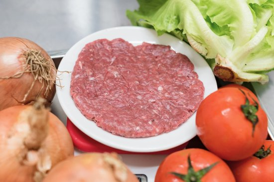 手打純牛肉漢堡排