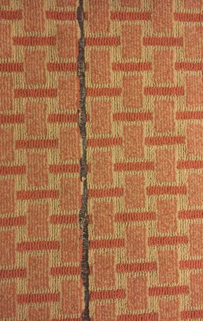 Ramada Tropics Resort / Conference Center Des Moines: carpet in room coming apart
