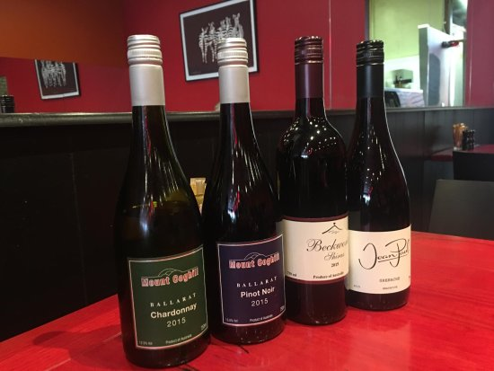 Red Peppa: Our selection of local wines - Mount Coghill, Mount Beckworth, Jean Paul