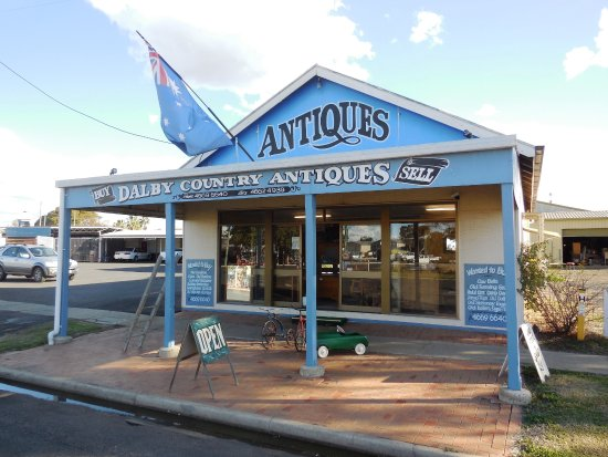 Dalby, Australia: A must see for travellers and those with in interest iin antiques.