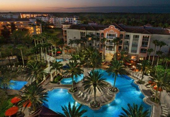 Marriott's Grande Vista: Village Center Outdoor Pool - Aerial