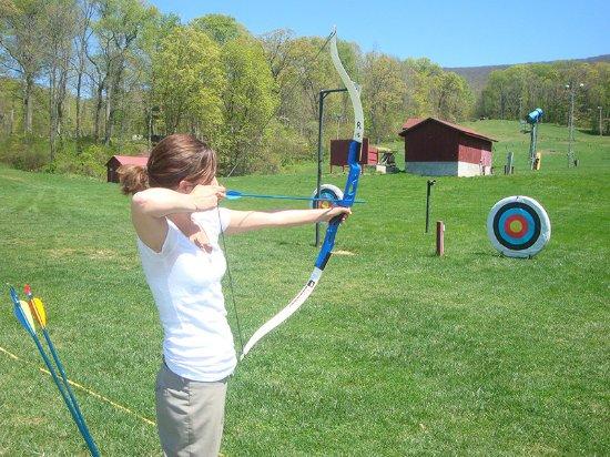 Hot Springs, فيرجينيا: Archery