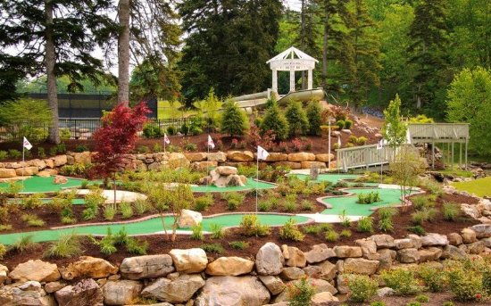 Hot Springs, Wirginia: Mini Cascades Miniature Golf