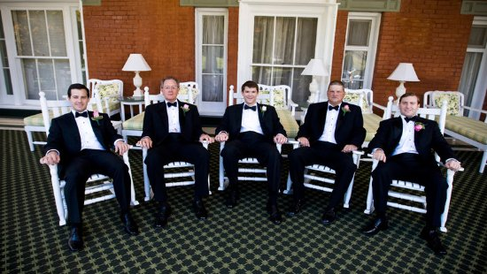 Hot Springs, VA: Groomsmen