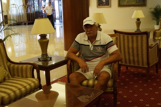 Hotel Oreanda: У ресепшн