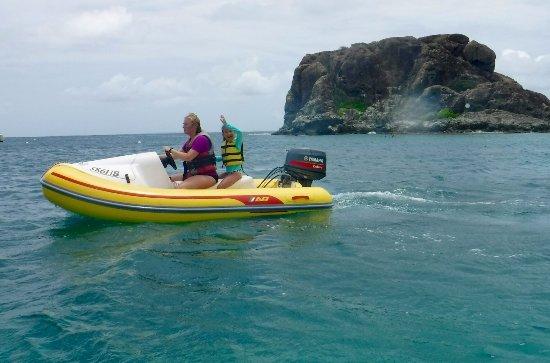 Simpson Bay, St-Martin/St Maarten: Rhino Safari