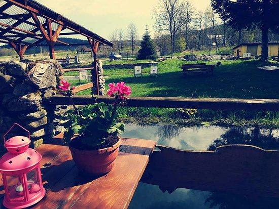 Stronie Slaskie, Polen: Raj Pstrąga wiosną