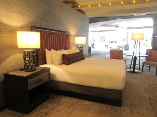 Model Hotel Room set up in Lobby, John Ascuaga's Nugget, Sparks, Nevada