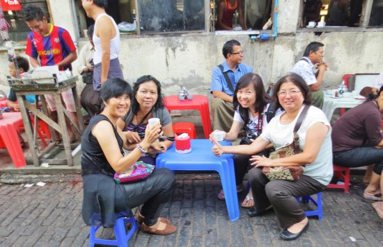 Yangon Region, Myanmar: Enjoy tea like the locals do - Yangon, MYANMAR