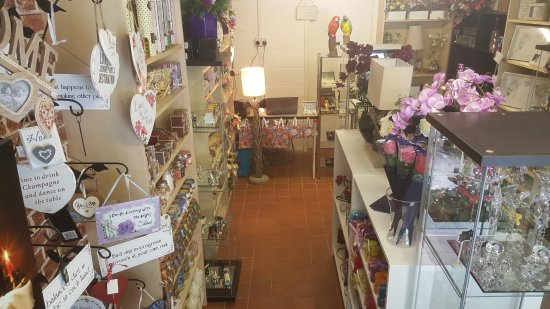Cheddar, UK: Our Shop