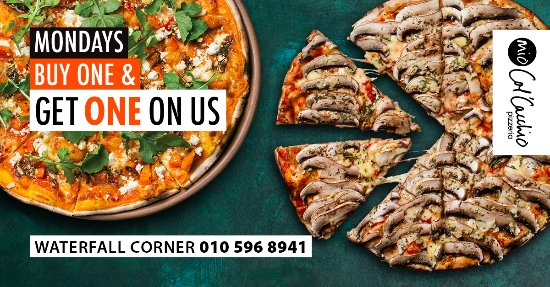 Midrand, Sudáfrica: Don't miss our amazing Winter special!! Visit us today and have your slice of deliciousness.