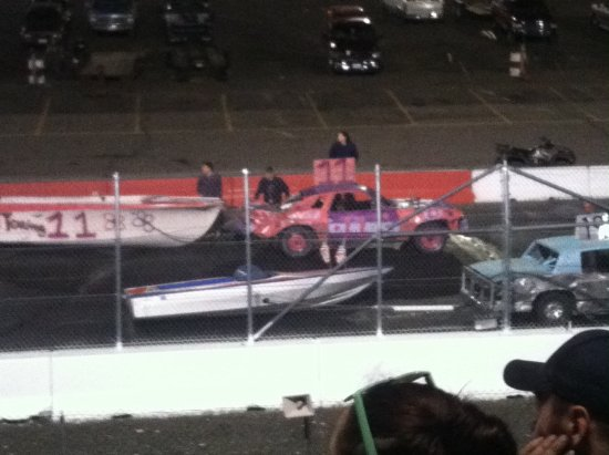 Airway Heights, WA: Boat drag racing
