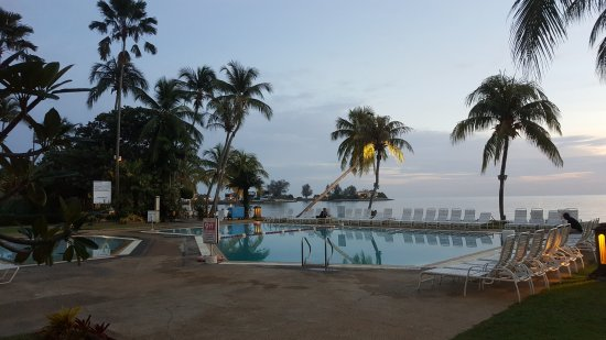 The Regency Tanjung Tuan Beach Resort: Nice pictorial view  from the hotel