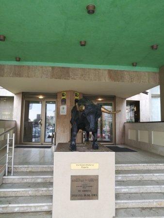Hotel Srbija: main entrance