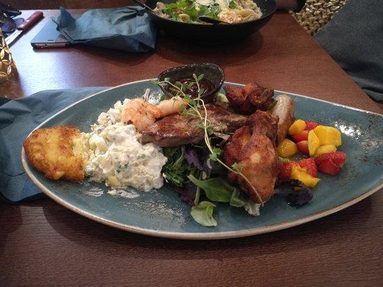 Havariet: Grill plate.