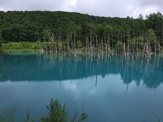 Blue Pond : beautiful