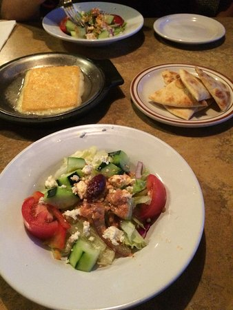 Beaverton, OR: appetizer and salad