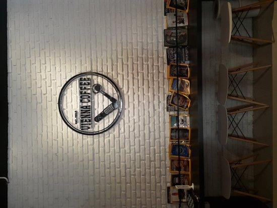 Dumai, Indonesia: Vienna Coffee & Tea shop