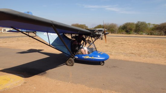 Hoedspruit, Sudáfrica: Home build plane
