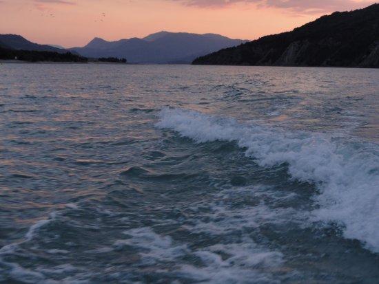 Embrun, فرنسا: apero bateau