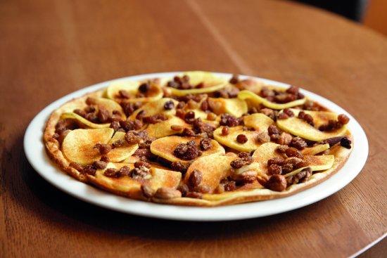 Maarssen, Hollanda: Appel Rozijnen met kaneelsuiker