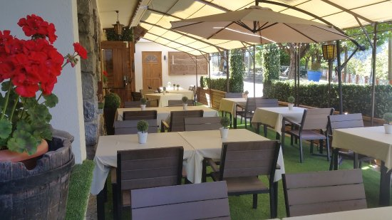 Beuil, France: Terrasse