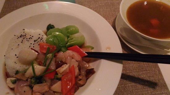 Element Fresh Restaurant : stick with same menu to stay safe :)